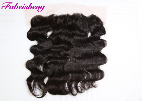 Chiny Natural Color Curly Lace Frontal Closure , 13*4 Lace Frontal Closure With Baby Hair fabryka